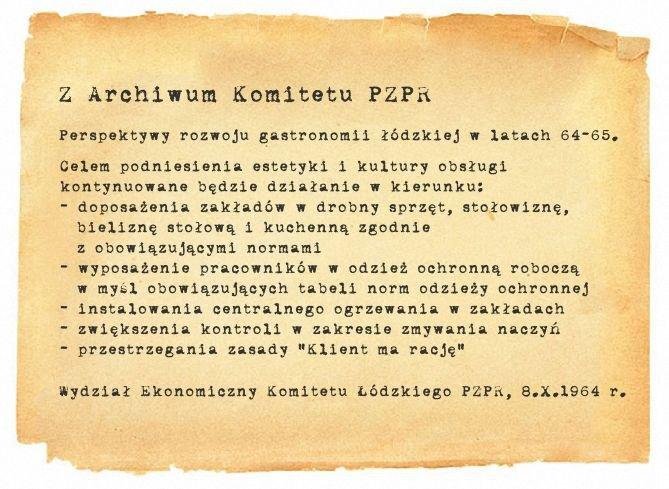 Z archiwum Komitetu PZPR