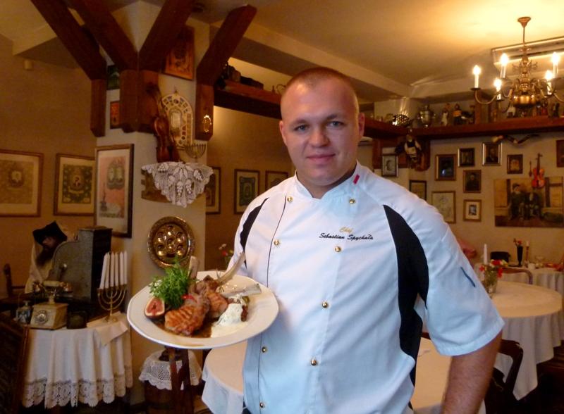 Sebastian Spychała - szef kuchni restauracji Anatewka