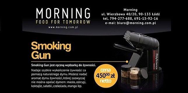 Smoking gun z oferty firmy Morning