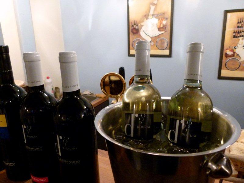Degustacja komentowana win z winnicy winnicy d'Alessandro w Klubie Wino