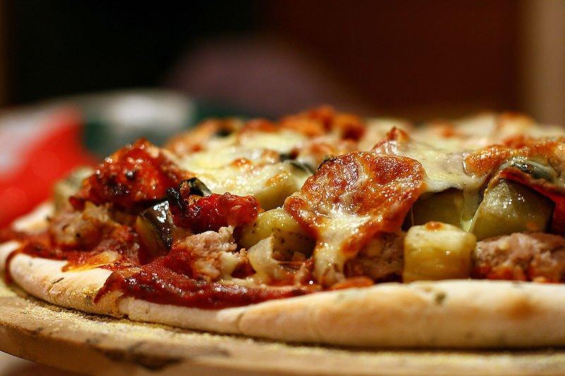 Pizza z menu restauracji Da Antonio - fot. Facebook