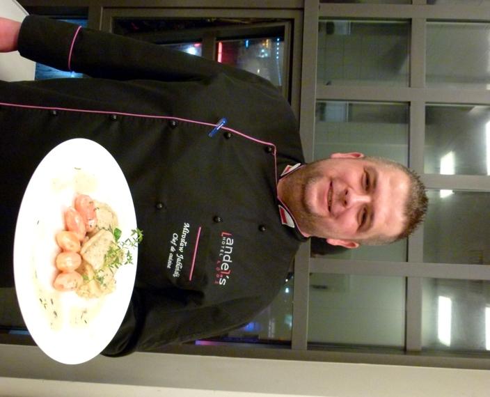 Mirosław Jabłoński - szef kuchni andel's Hotel Łódź