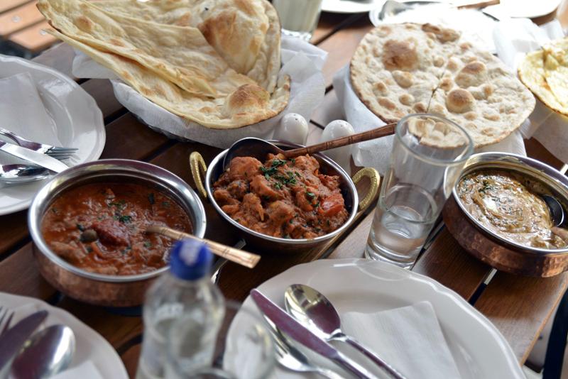 Z wizytą w restauracji Ganesh fot. Elżbieta Lentz (facebook.com/ElzbietaLentz)