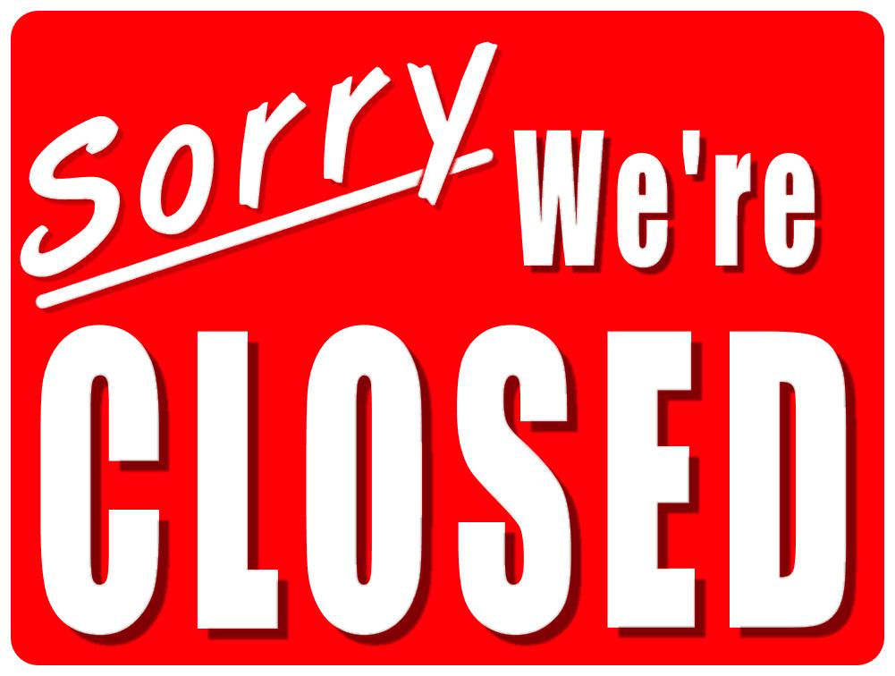 Restauracje zamknięte w 2013 roku fot. sxc.hu