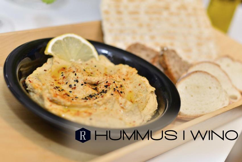 Hummus i Wino, czyli Jemy w Łodzi i Klub Wino na Restaurant Day
