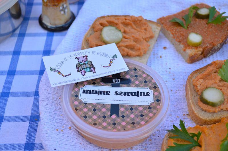 Pasty Majne Szwajne na Eko Targu fot. smakoszkijaroszki.blogspot.com