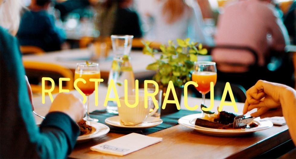 Kadr ze spotu promującego restaurację Łącznik fot. Motion Pikczer