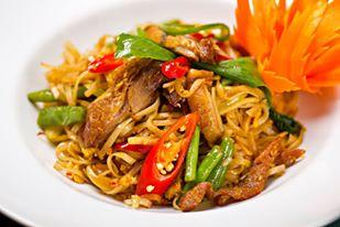 Pad thai w restauracji tajskiej Hot Spoon - fot. FB Hot Spoon