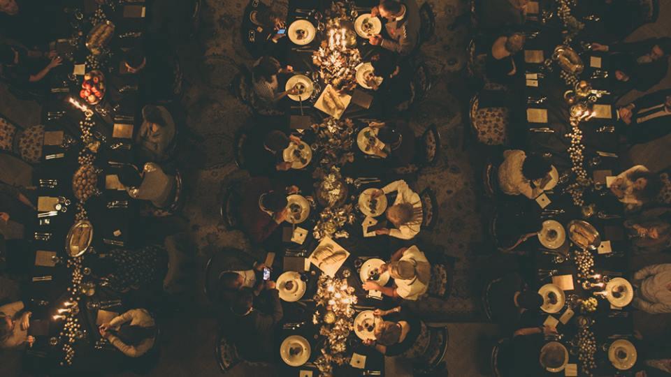 Kolacja w kontekście - Rococo Barocco fot. Borys Bodetko