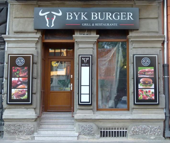 Byk Burger przy Struga