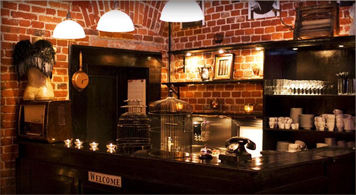 Zamknięta restauracja Lili na OFF Piotrkowska