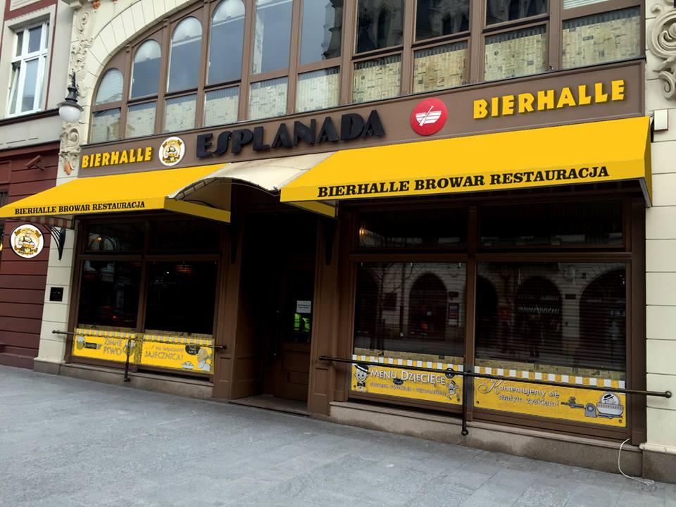 Bierhalle Esplanada - fot. FB Bierhalle Esplanada