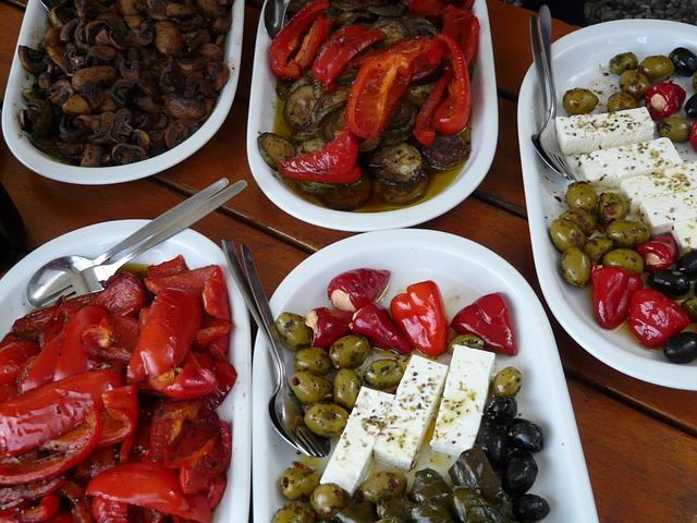 Greckie jedzenie - fot. pixabay.com