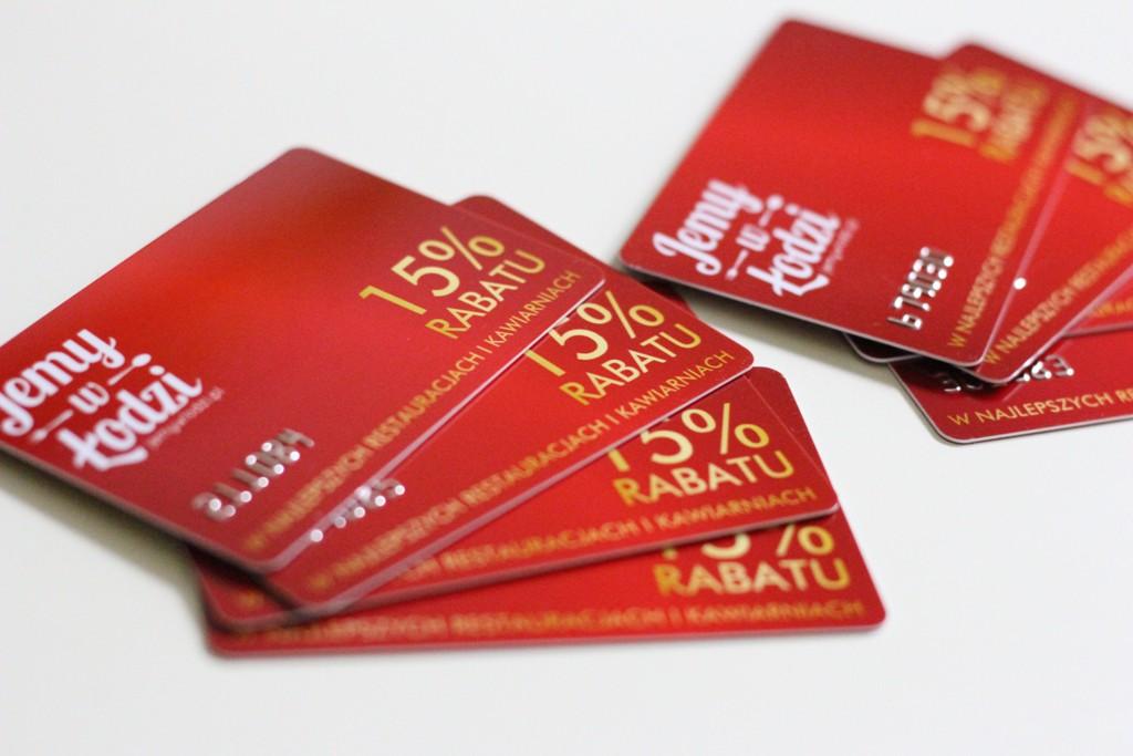 Karta rabatowa Jemy w Łodzi 2016