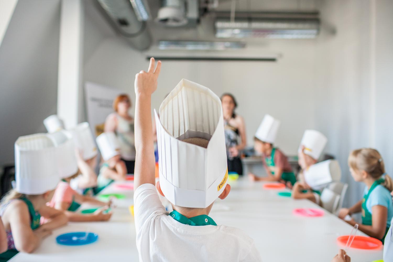 Urwisy poznają przepisy - warsztaty kulinarne dla dzieci podczas PGNiG Transatlantyk Festivalu