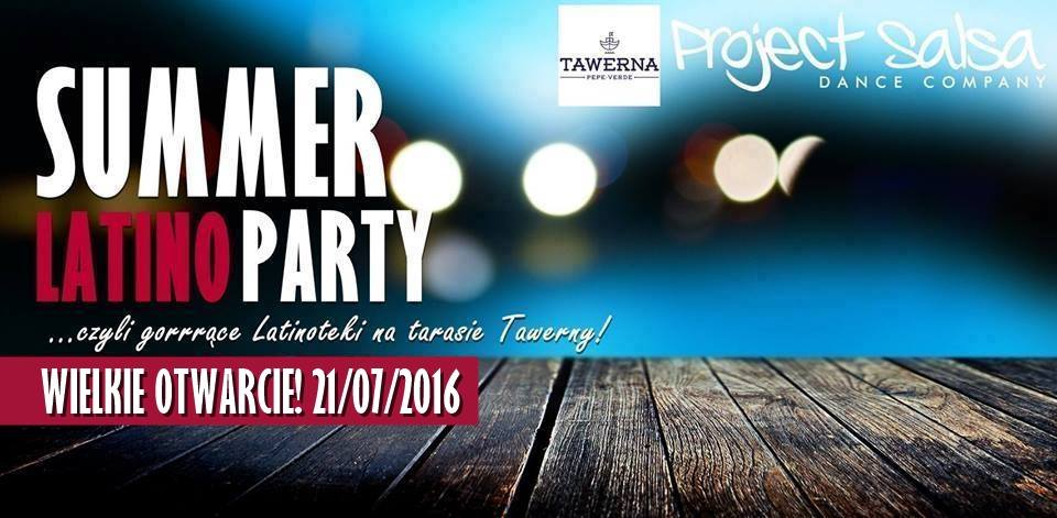 Summer Latino Party w Tawernie Pepe Verde