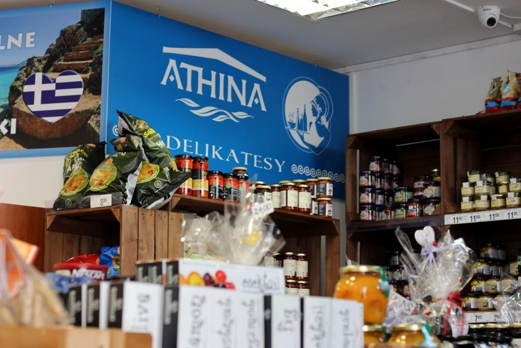Delikatesy Athina – kulinarna wyprawa do Grecji