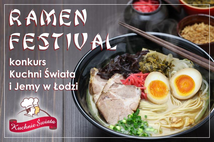 W czwartek rusza łódzki Ramen Festival