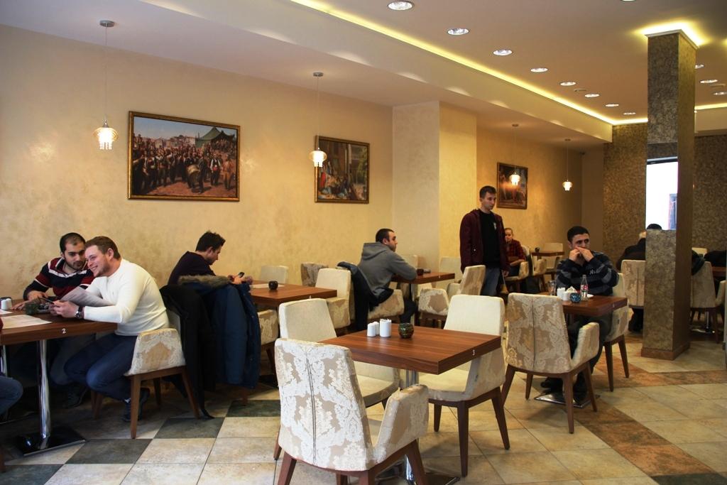 Zamknięta restauracja Ala Turka