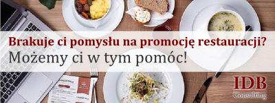 Doradztwo gastronomiczne - IDB Consulting