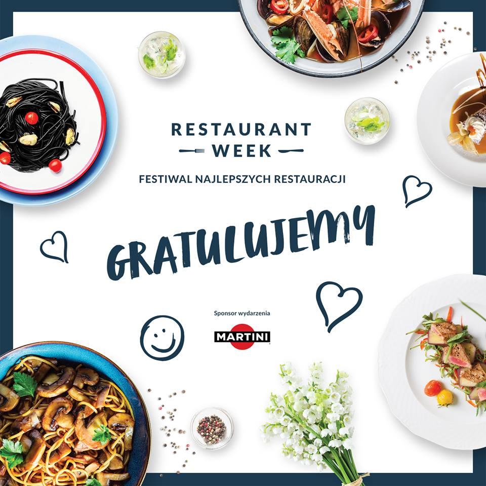 Restaurant Week – znamy zwycięzców!