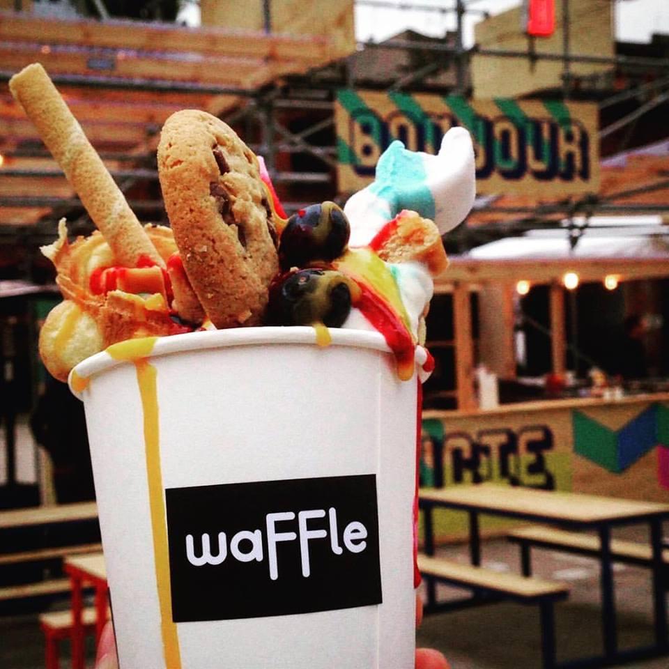 waFFle – wyjątkowe gofry na OFF Piotrkowska fot. fb.com/waffle.polska