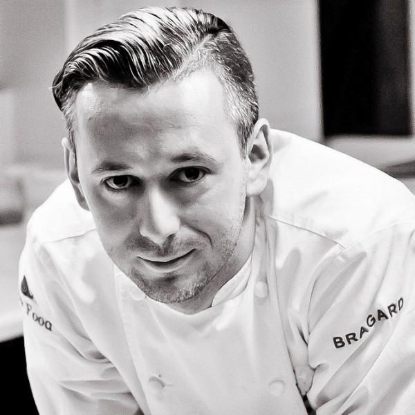 Mariusz Pieterwas, szef kuchni restauracji Krew i Woda w Gdyni