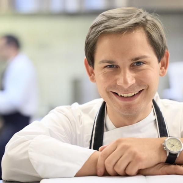 Robert Skubisz, szef kuchni restauracji Amber Room