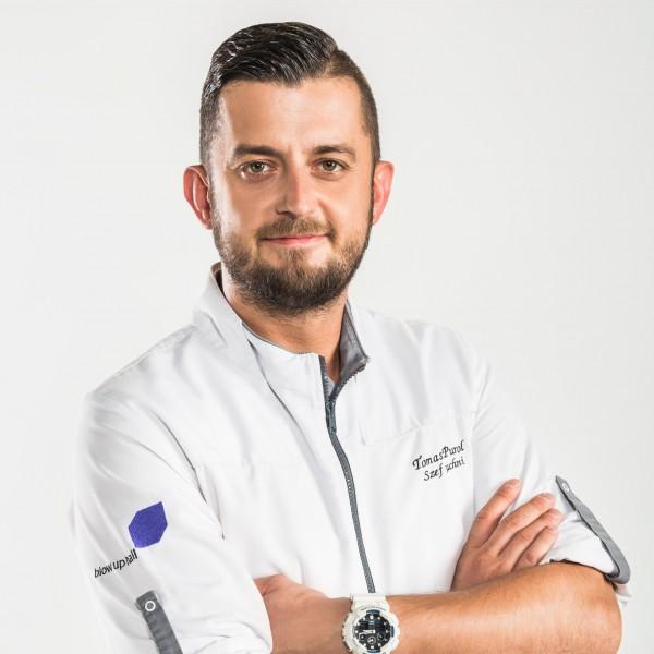 Tomasz Purnol, szef kuchni restauracji Blow Up Hall 5050