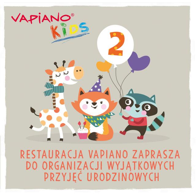 Z dzieciakami do Vapiano