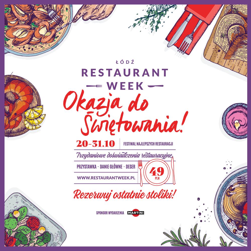 Jesienny Restaurant Week już w październiku