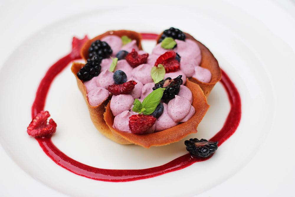 Festiwalowy deser w restauracji MOTYWY