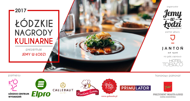 Łódzkie Nagrody Kulinarne 2017