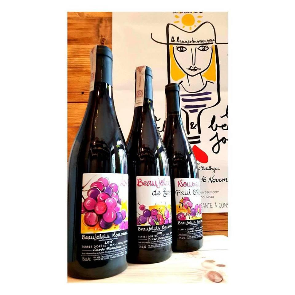 Beaujolais w Dwa przez Cztery wine bar