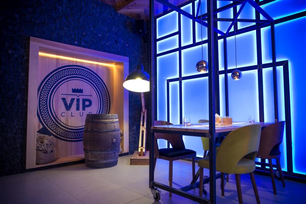 Sala VIP restauracji Farina Bianco