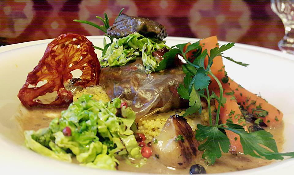 Festiwalowe danie restauracji Dom Tkacza