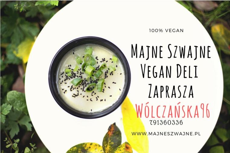 Obiadki Czapkowe w Majne Szwajne Vegan Deli