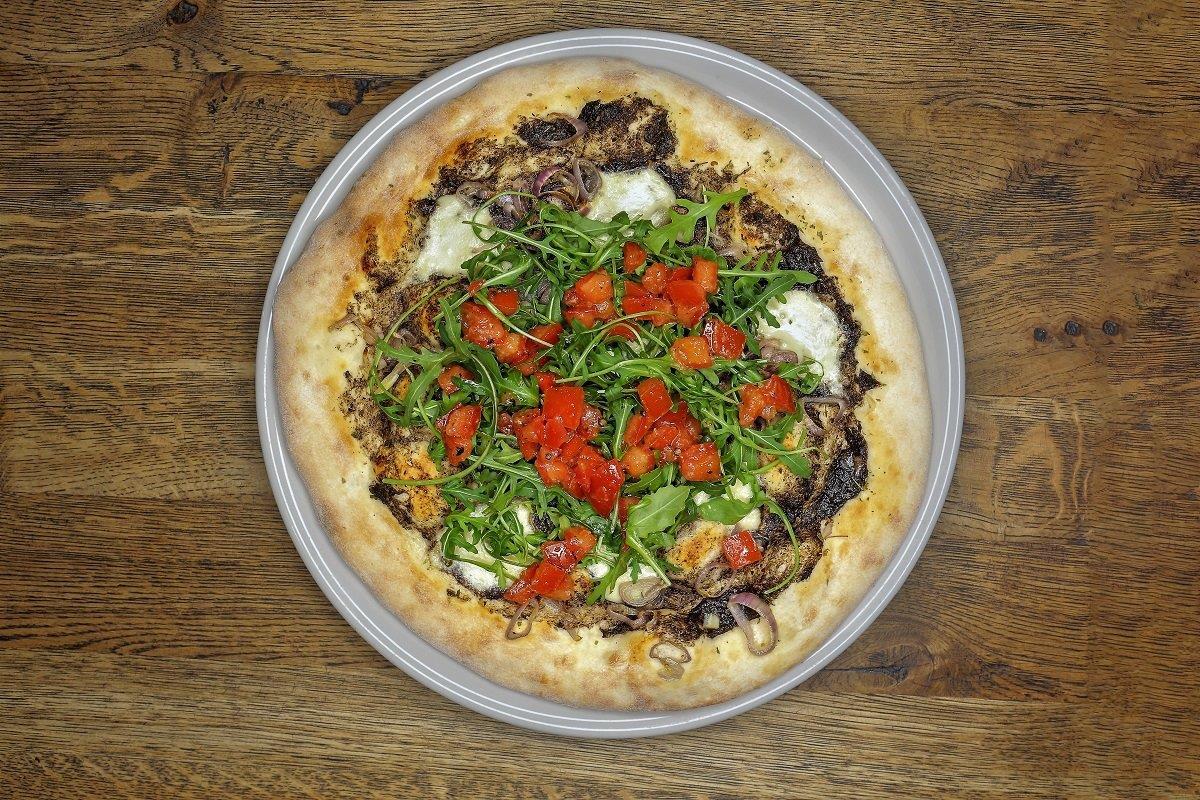 Festiwalowa pizza w restauracji Bawełna