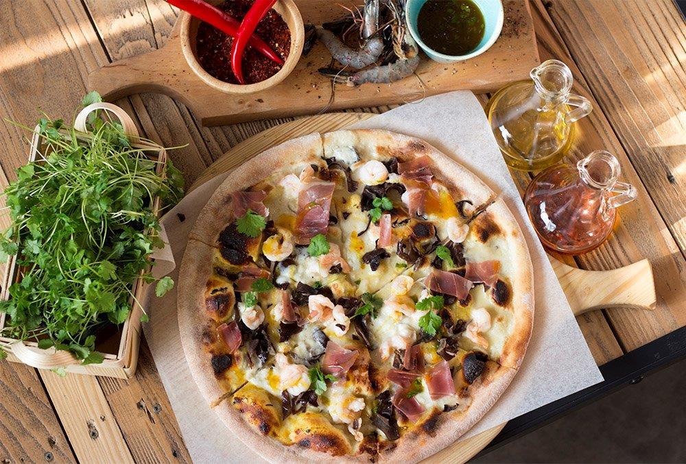 Festiwalowa pizza w Farina Bianco