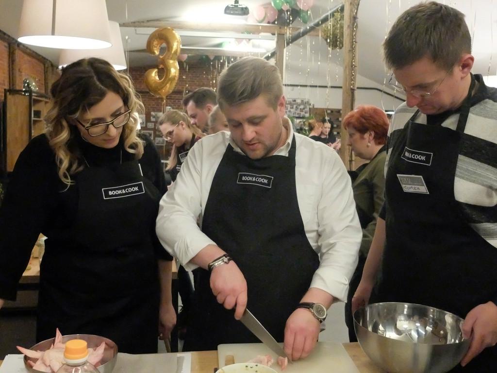 Trzecie urodziny Book&Cook z Tomaszem Jakubiakiem