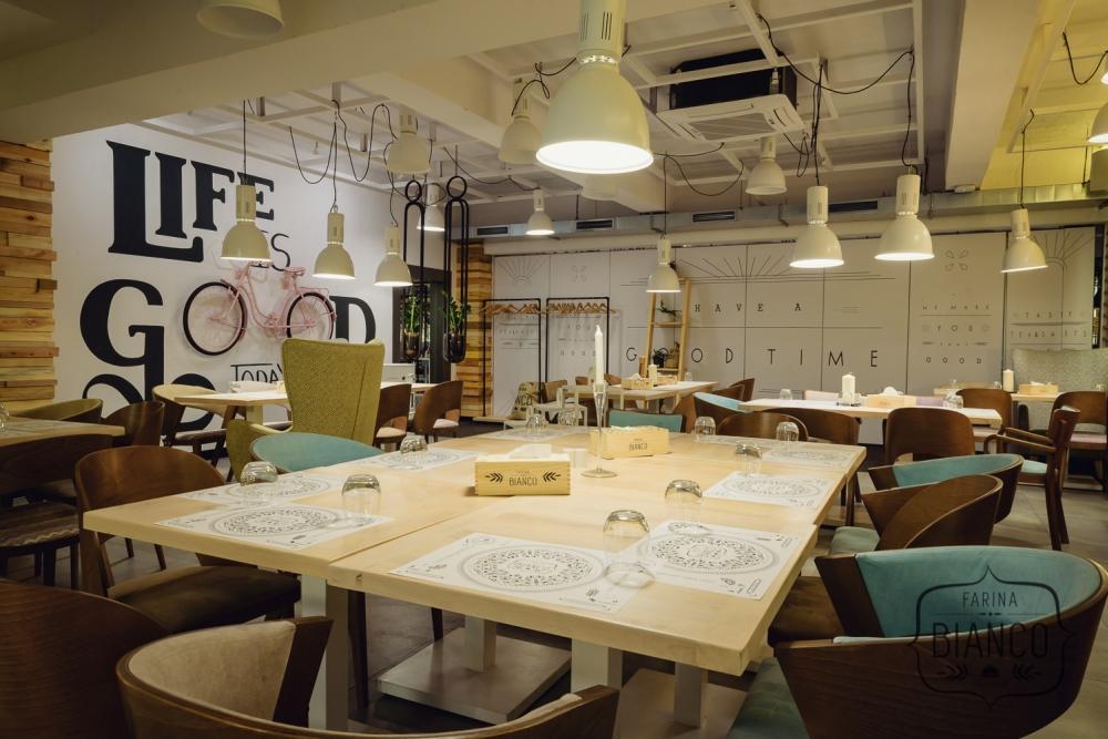Nowa sala Time w restauracji Farina Bianco