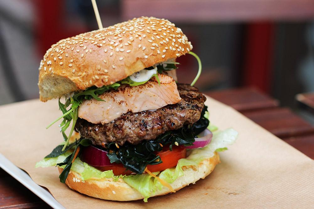 Burger Gastromachina - Jemy w Łodzi Food Fest
