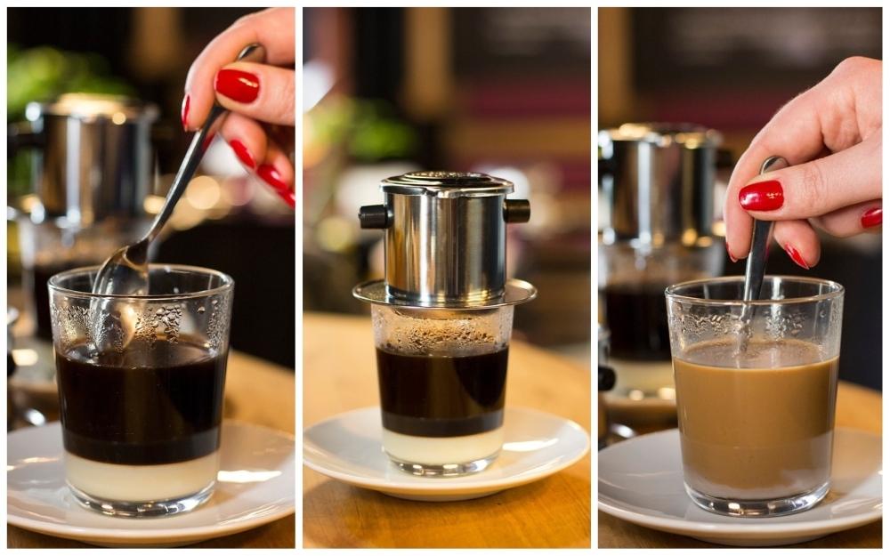 Wietnamska kawa w Stacji Street Food