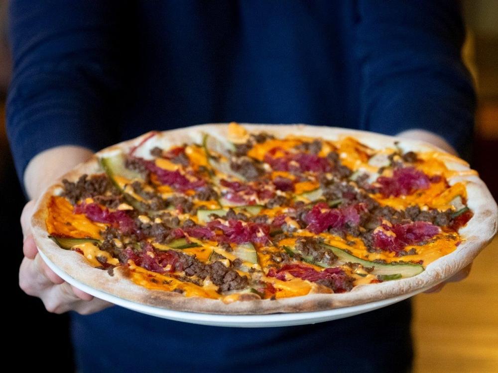 Jemy w Łodzi Pizza Fest 2019 - pizza Presto Aleksandrów Łódzki
