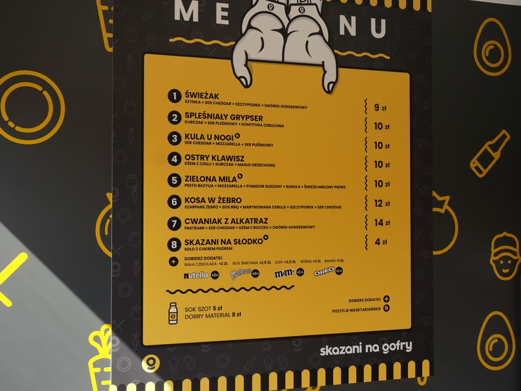 Skazani na gofry - autorski street food na OFFie