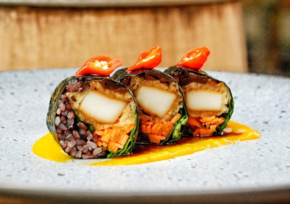Festiwal Dobrego Smaku 2019 - danie restauracji House of Sushi fot. festiwaldobregosmaku.eu