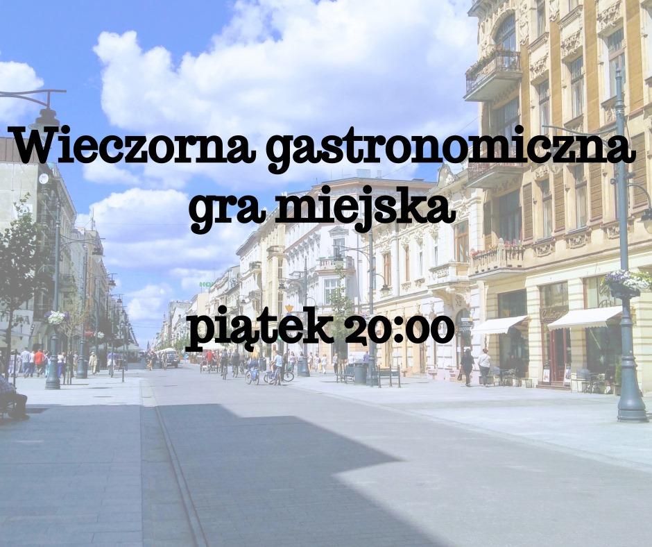 Gastronomiczna gra miejska