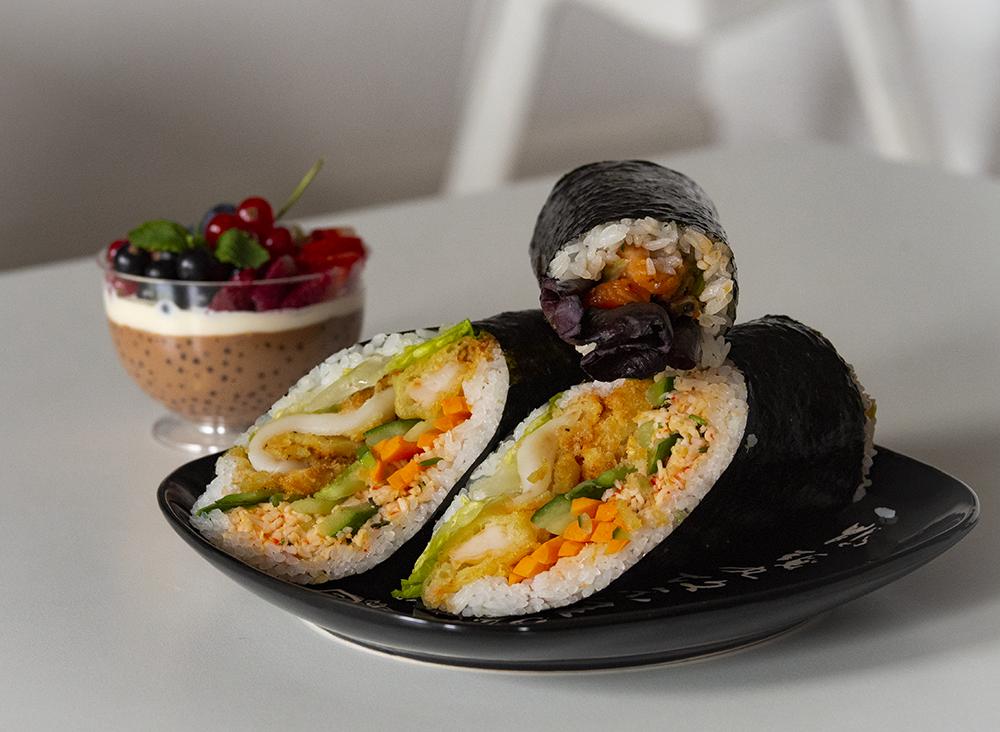 Sushi w Dłoń w dostawie od Glodny.pl