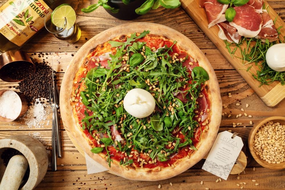 Jemy w Łodzi Pizza Fest - pizza Farina Bianco