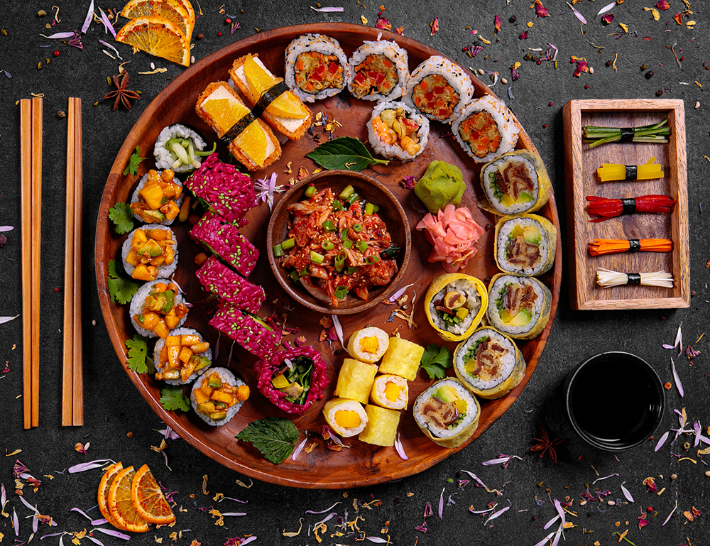 Zestaw wege - fot. Sushi Kushi